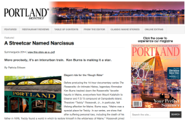 Portland Magazine article on Seashore Trolley Museum
