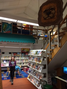 Langlais sculpture hangs from library ceiling