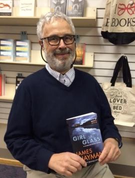 James Hayman at Longfellow Books