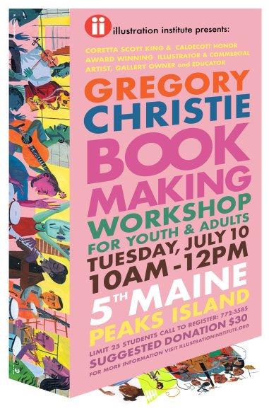 Gregory Christie Bookmaking workshop