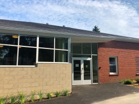 New entrance to Peaks Island Branch Library